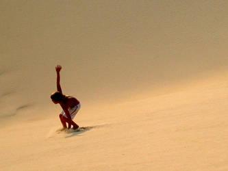 sand surfing by lovethebeach2404