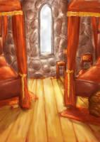 Gryffindor Dorm by schnestel