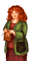 Collab: Molly Weasley by schnestel