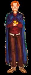 Collab: Arthur Weasley by schnestel