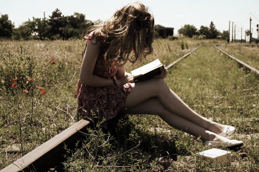 The reader by angela-madalina