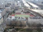 Soccer near the Eiffel