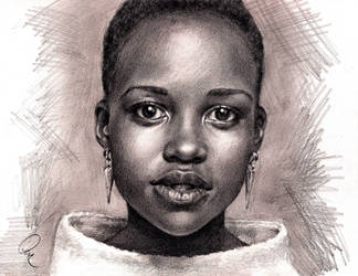 Lupita Nyong'o by Define-X
