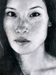Lucy Liu by Define-X