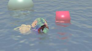 .:Blender render:. Append Miku deep sea