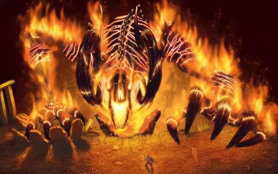Rift Fire Colossus by DanikYaroslavTomyn