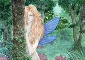 fairy forest by Alexsiel