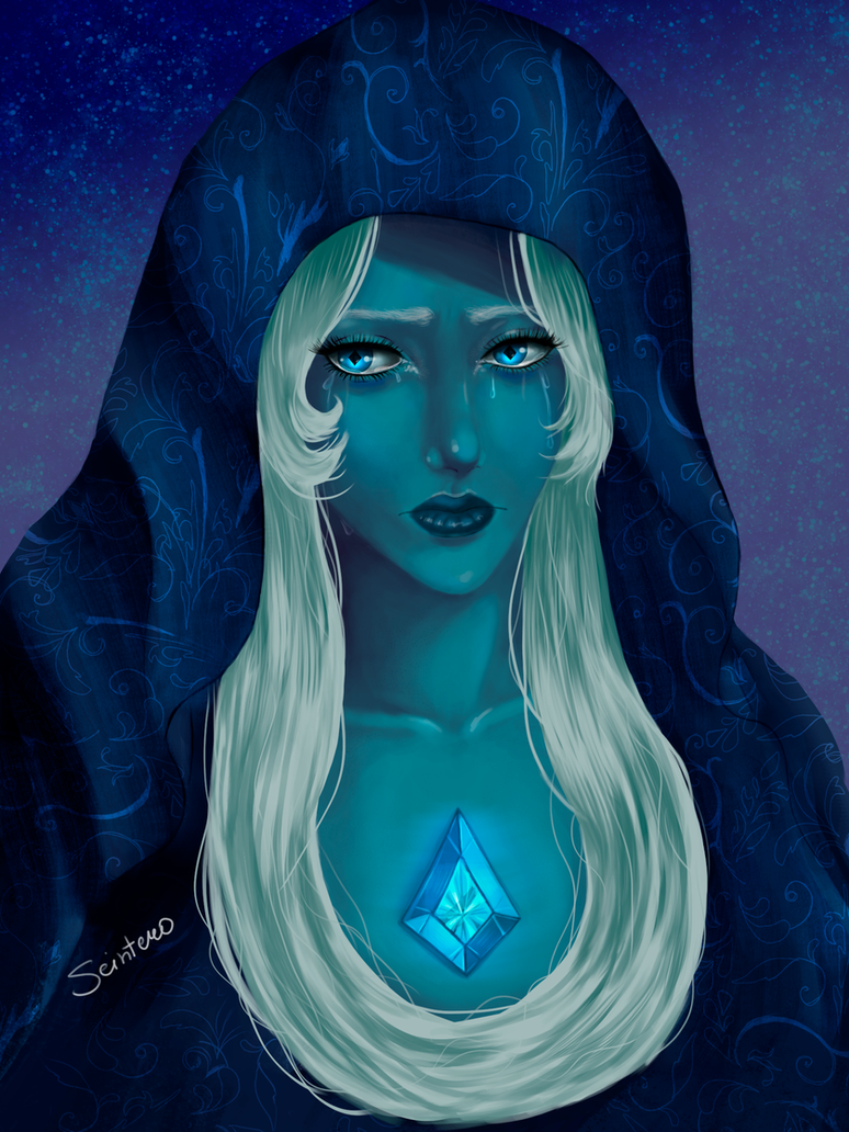 You can call it almost the first work in digital! I hope to develop in this direction  By the way, Blue Diamond is very elegant! I hope to draw them all    Photoshop