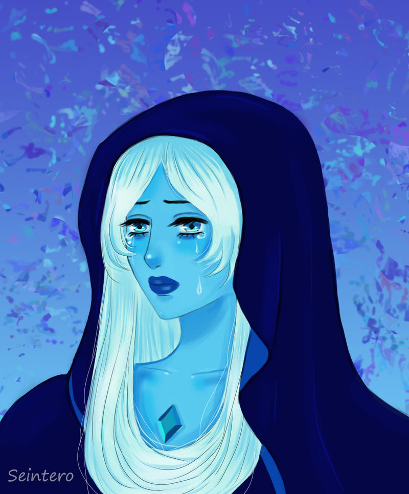 Again      I am attracted to her image of a sad and refined lady.The previous version   More real style Blue Diamond