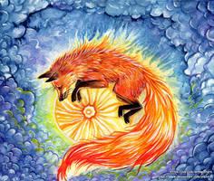 Sunny the fire Fox