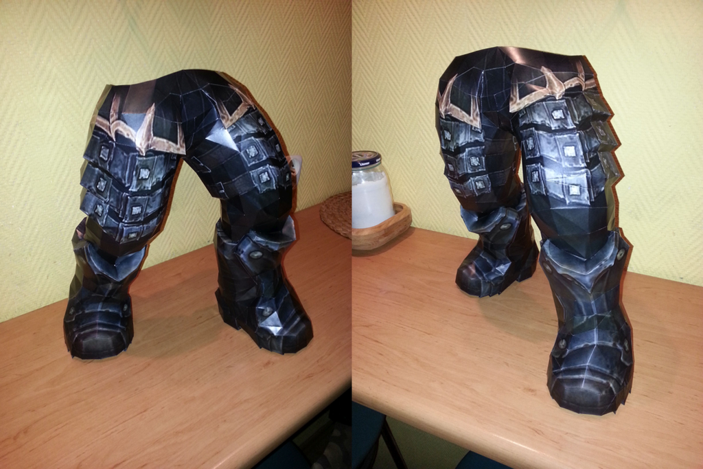 Darksiders WAR - legs DONE! by bambryl