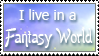 Fantasy World Stamp By Twilightmoon by vickymichaelis
