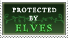 Protected By Elves Stamp By Purgatori by vickymichaelis