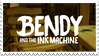 Stamp  Bendy And The Ink Machine By Djaudydrawing by vickymichaelis