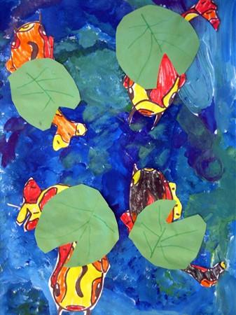 Lotus koi pond by fairlyflawed on deviantart for Koi fish pond lotus