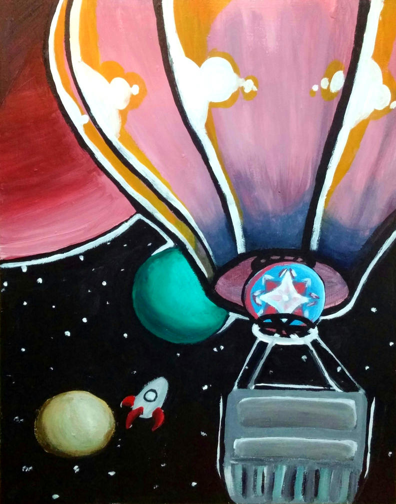 Space Balloon by TROgirl