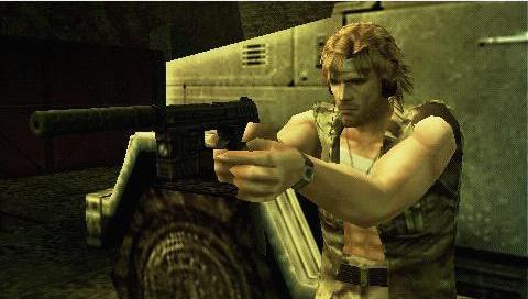 Metal Gear Solid Portable Ops - Roy Campbell by liquidocelot96