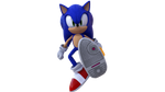 Sonic with 06 Shoes by Sssmokin-3D