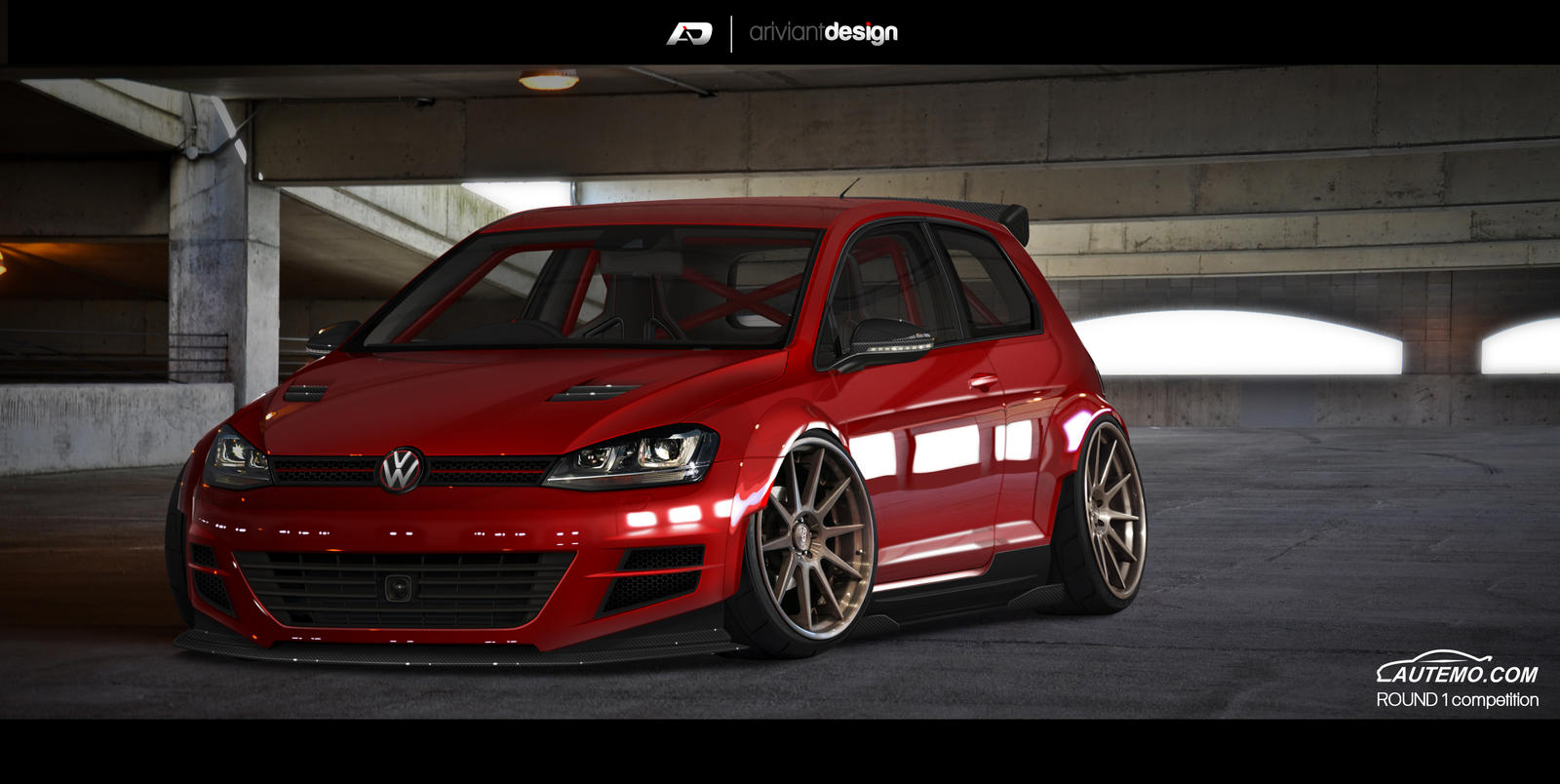 Golf Mk7 Finish By Artriviant On Deviantart