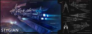Stygian Warship - EVE Online