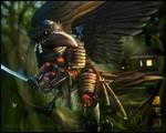 Forest Crow-Tengu