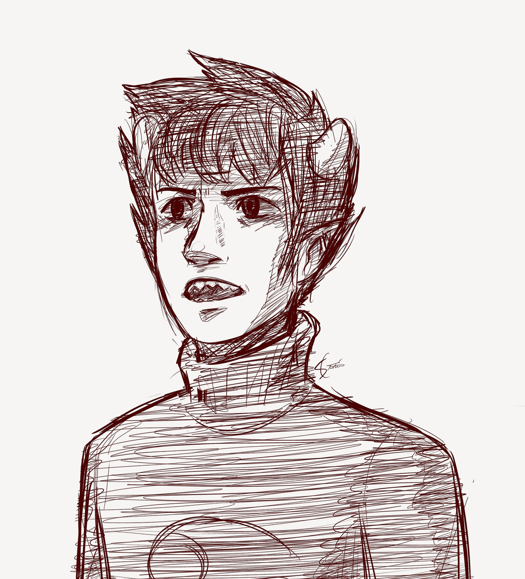 Karkat by StaticColour
