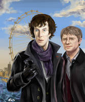 Sherlock by freaky-kayo