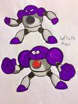 Inflate Man (Make A Good Mega Man Robot Master)