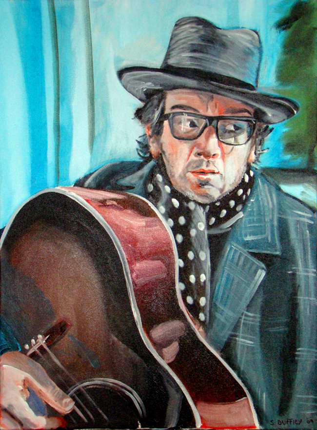Elvis Costello by IcyDuff