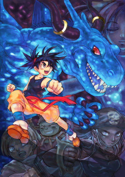 Blue Dragon by zaionic