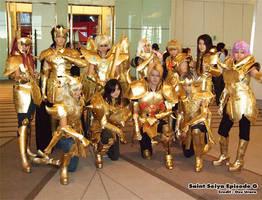 Gold Saint Eleven by zaionic