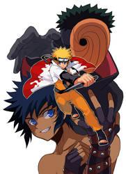 Cover Naruto Doujinshi by zaionic