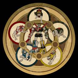 Voltron Mandala by zaionic