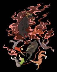 Ukiyoe Blood Goat