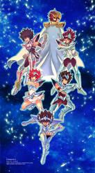 Bonus Page : Saint Seiya Calendar 2015 by zaionic
