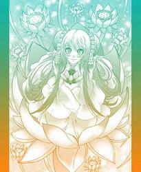 Lotus Lady by zaionic