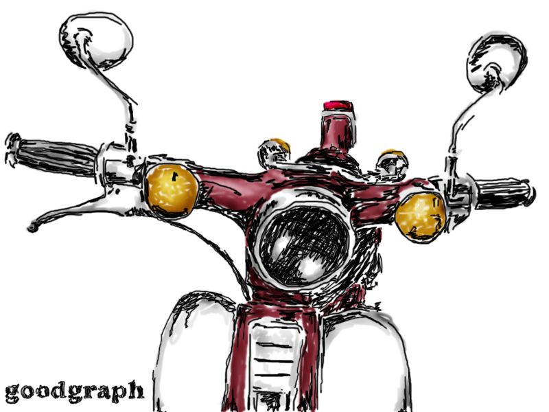 honda c70 by goodgraph on deviantart