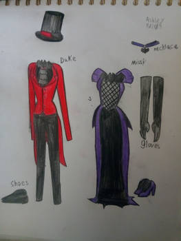Duke and Missi outfits