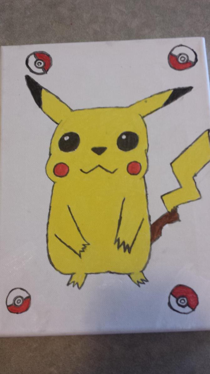 pikachu by kayla071