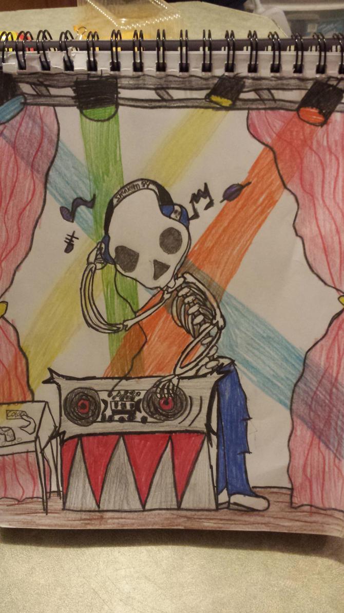 Skull candy by kayla071