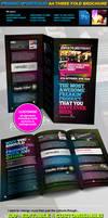3 Fold PSD Brochure Template