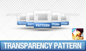 Seamless Transparency Pattern