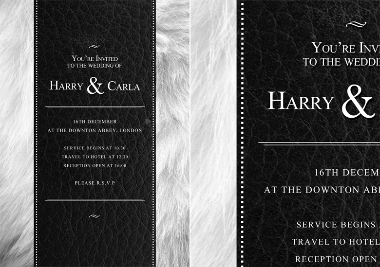 PSD Wedding Invitation Template By Quickandeasy1 On DeviantArt