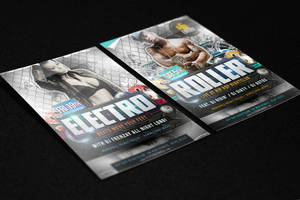 Free Flyer Mock Up PSD Template Vol3 by quickandeasy1