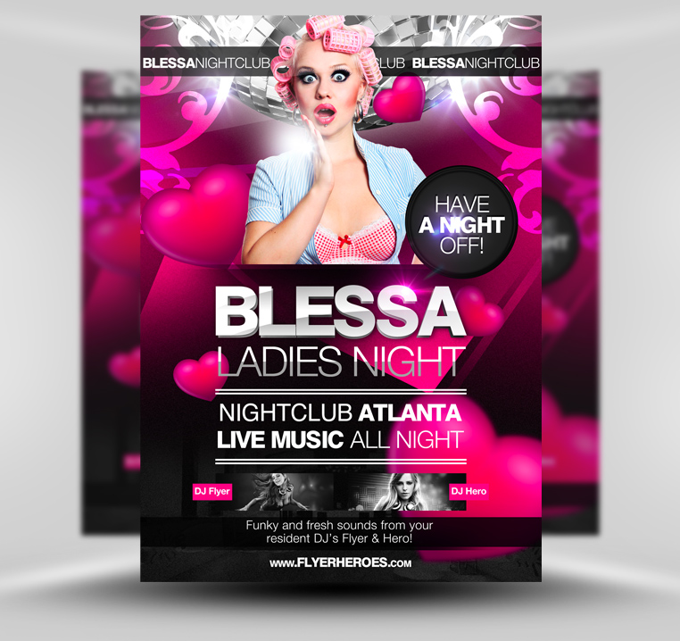 Ladies Night Flyer Template By Quickandeasy1 On Deviantart