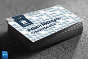 Business Card Template by quickandeasy1