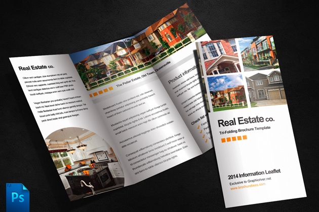 Real Estate Brochure Template by quickandeasy1