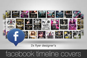 Facebook Timeline Cover Template by quickandeasy1