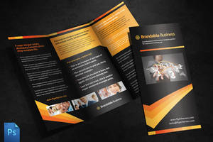 Business Tri Fold Brochure Template by quickandeasy1