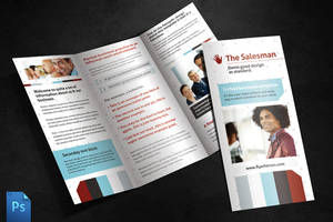The Salesman Brochure Template by quickandeasy1
